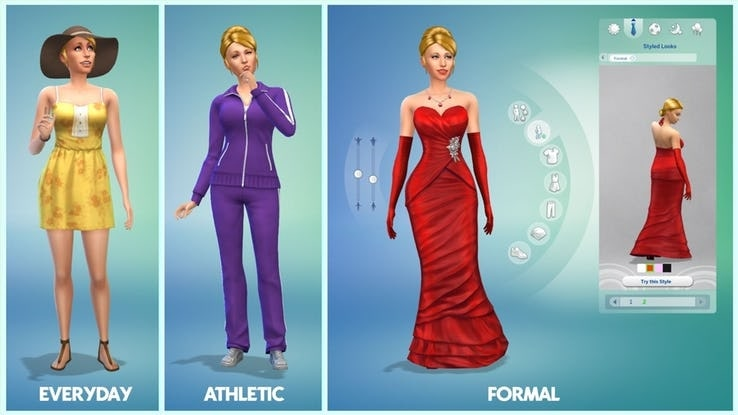 Texturing-of-the-faces-in-sims-5