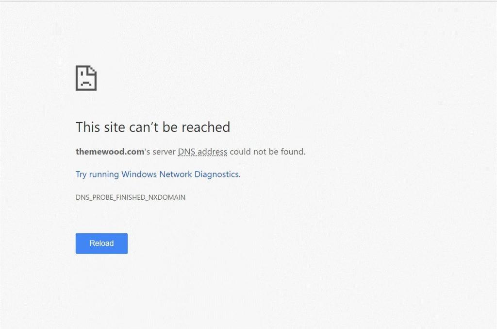 google chrome errors