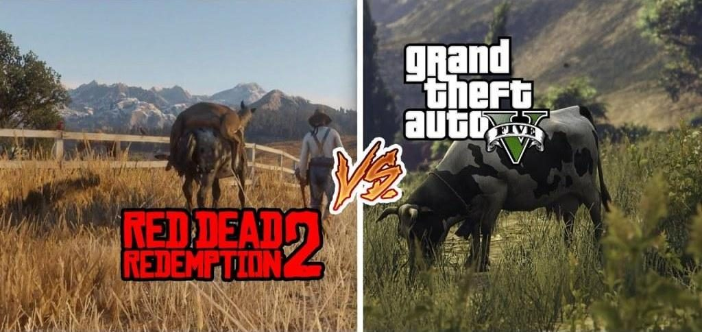 gta vs red dead redemption