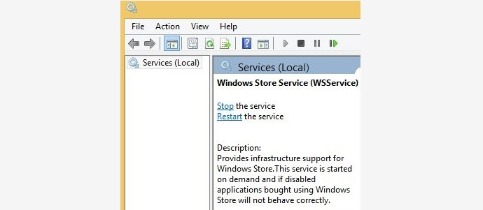 windows store services