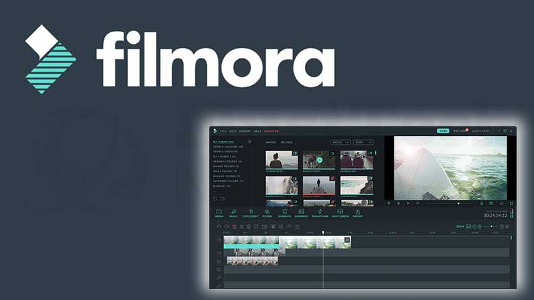 filmora video editing software
