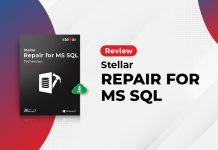 stellar repair for ms sql product review