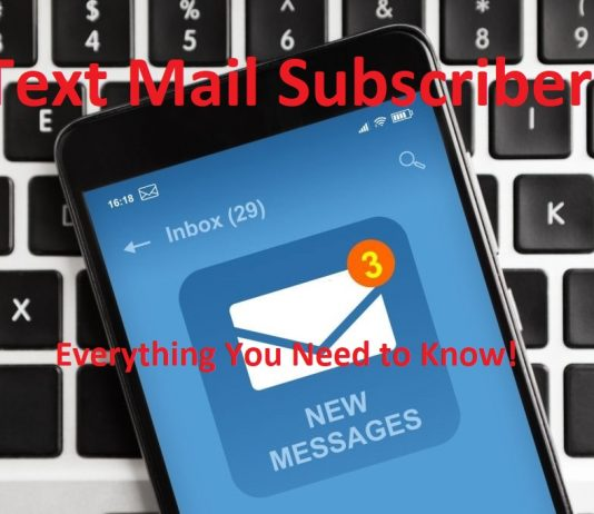 text mail subscriber